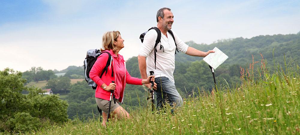 Nordic-Walking-Touren am Nationalpark Bayerischer Wald